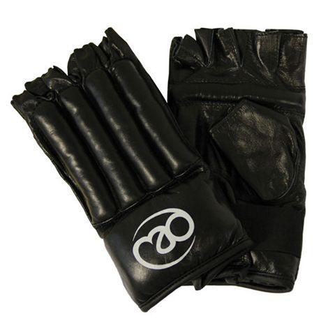 Boxing Mad Fingerless Leather Bag Mitt