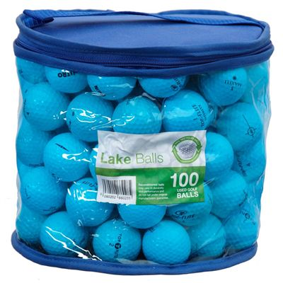 Gator Golf Value Mixed Lake Balls (Mix of 100)