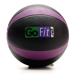 GoFit Ultimate 3kg Rubber Medicine Ball