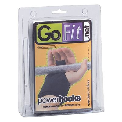 GoFit Power Lifting Hooks - Packaging