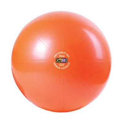 GoFit Premium Orange 55cm Core Stability Ball