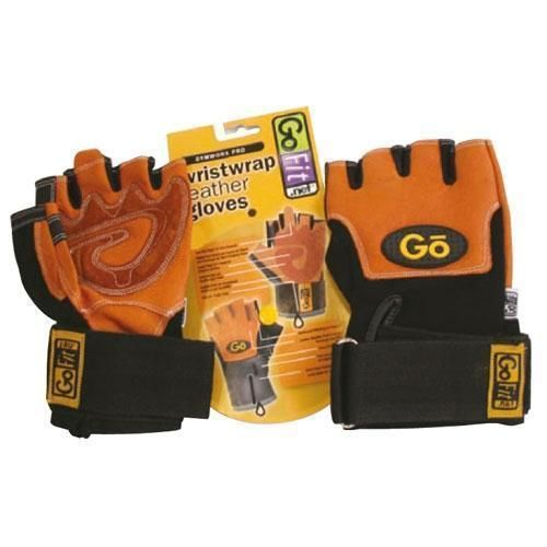 Dam Pro Gel Weight Lifting Gloves Gym Body Building Gloves: GoFit Pro Weight Lifting Gloves Inc CD Rom