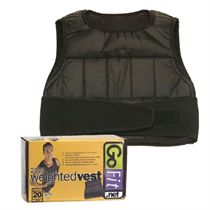 GoFit Weighted Vest 0.5kg - 9kg