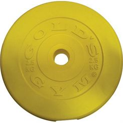 Golds Gym Coloured Vinyl Plate - 2.5kg
