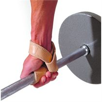 Golds Gym Leather Premium Lifting Strap