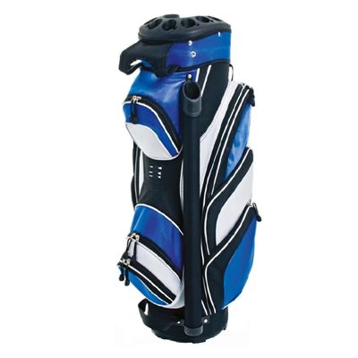 Grip Lock Cart Bag  - Black/Blue