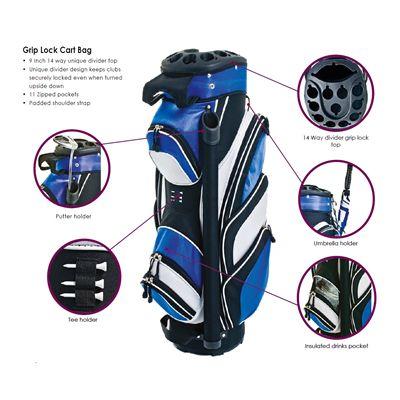 Grip Lock Cart Bag  - Details