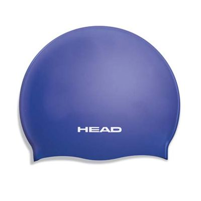 Head Junior Silicone Cap - Blue