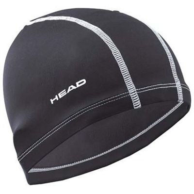 Head Lycra Cap - Black