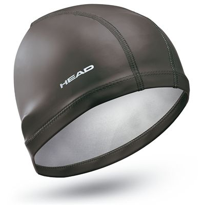 Head Lycra PU Coated Cap - Black