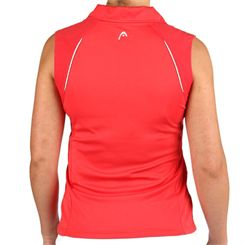 Head Performance Womens Polo Shirt Sleeveless