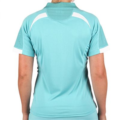 Head Performance Women Polo Shirt Blue - Back