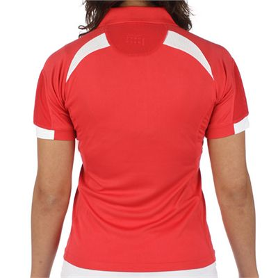 Head Performance Women Polo Shirt Pink - Back
