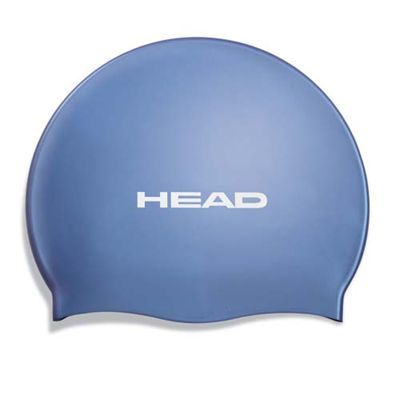 Head Silicone Flat Cap - Blue