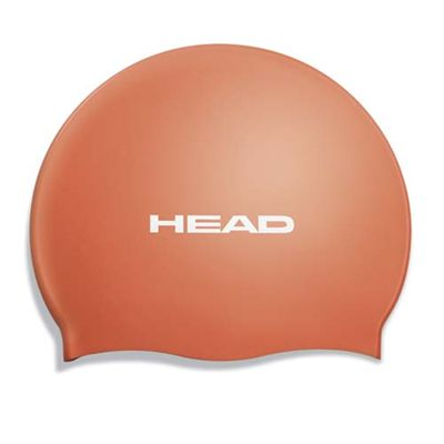 Head Silicone Flat Cap - Orange