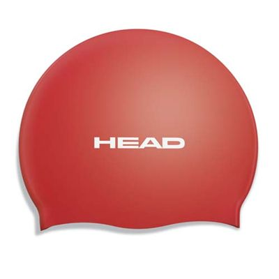 Head Silicone Flat Cap - Red