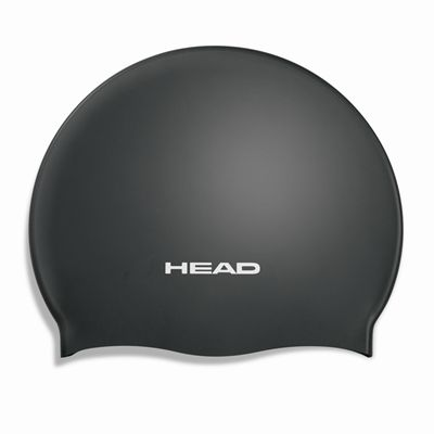 Head Silicone Moulded Cap - Black