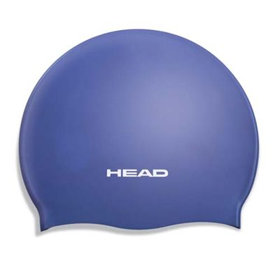 Head Silicone Moulded Cap - Royal