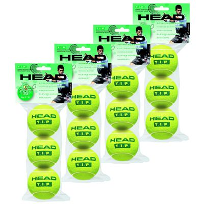 Head TIP Green Tennis Balls