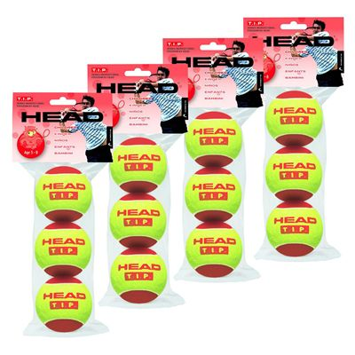 Head TIP Red Tennis Balls