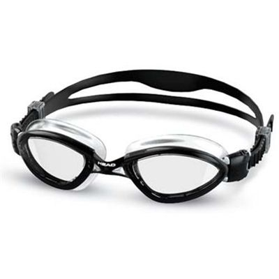Head Tiger LSR+ Goggles - Black/Clear