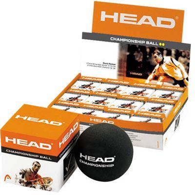 Head Championship Squash Balls - 1 dozen