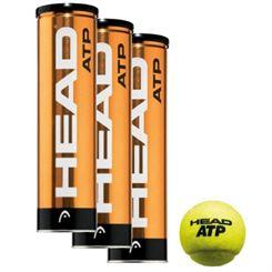 Head ATP Tennis Balls - 1 dozen