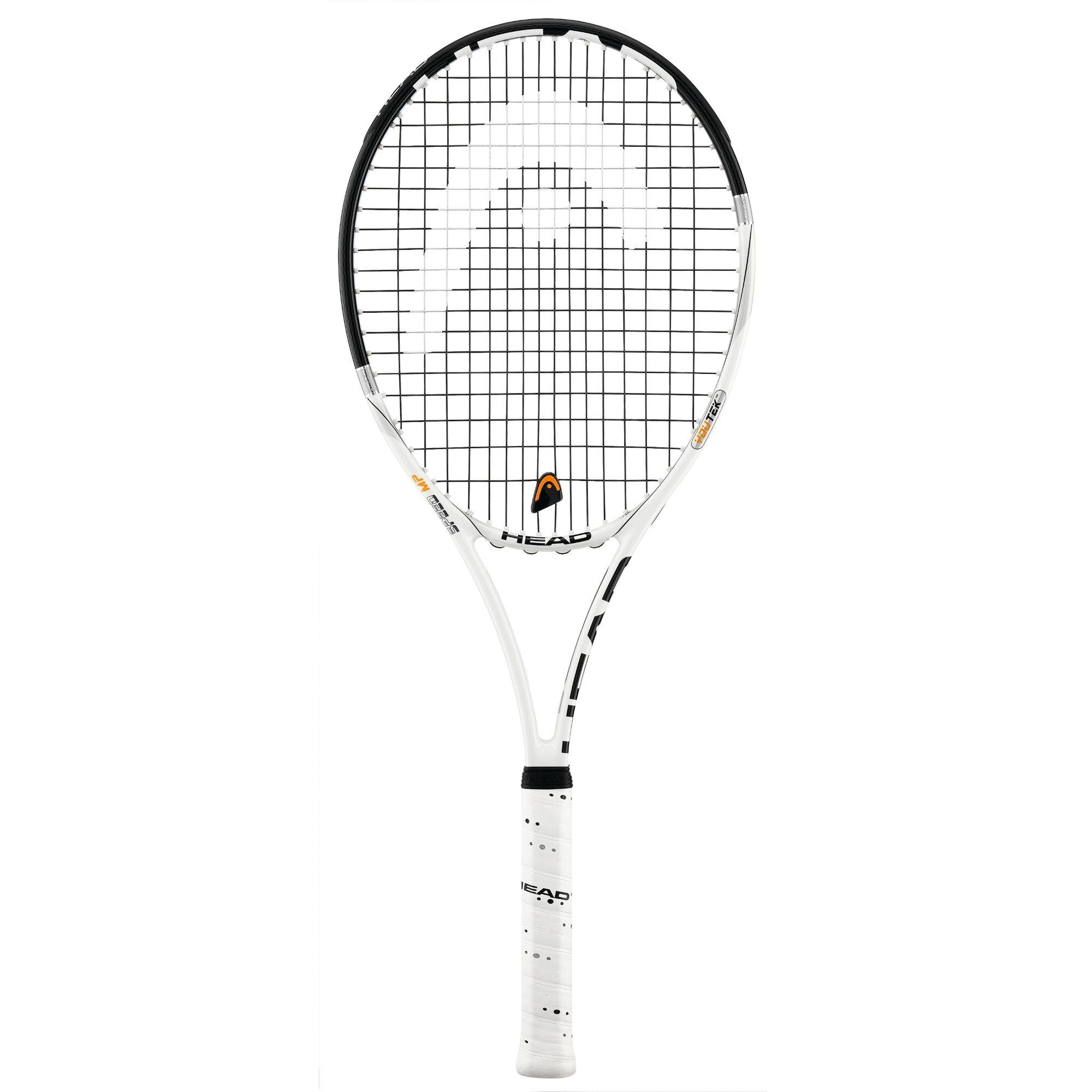head youtek speed mp tennis racket 16 19 grip size 4. Black Bedroom Furniture Sets. Home Design Ideas