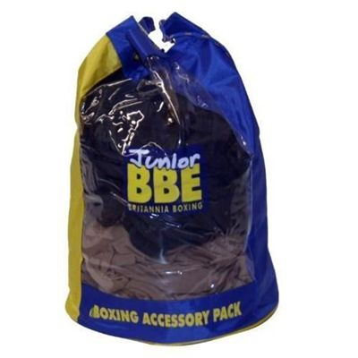 York BBE Canvas Accessory Bag - Blue/Yellow