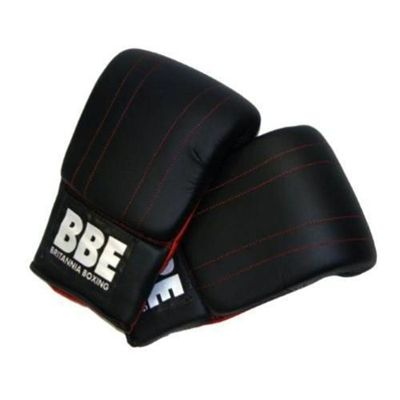 York BBE Black Speed Boxing Kit Mitts Back