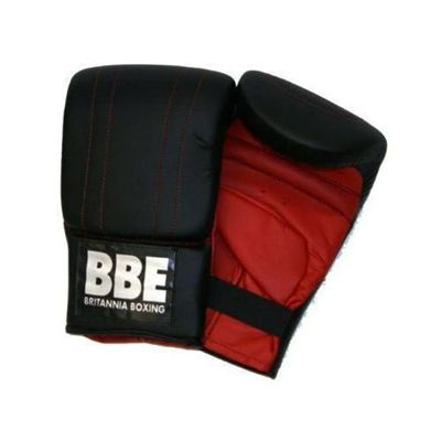 York BBE Black Speed Boxing Kit Mitts Front