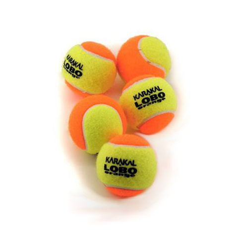 Karakal Lobo Orange Mini Tennis Balls - (1 dozen)