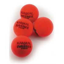 Karakal Red Foam Mini Tennis Balls - (1 dozen)