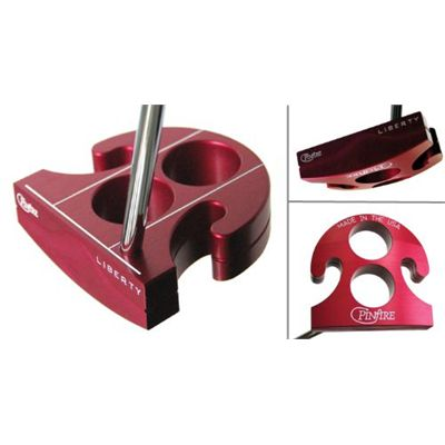 Pinfire Liberty Golf Putter - Red