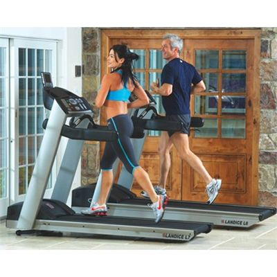 Landice L7 Club Series Sports Pro Trainer Treadmill
