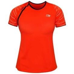 Li-Ning Ladies Red T-Shirt