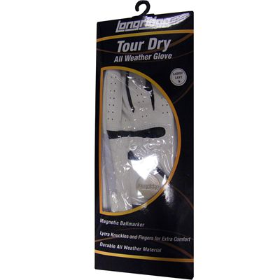 Longridge Evo Tour Golf Glove Packaging