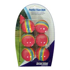 Longridge Foam Practice Balls