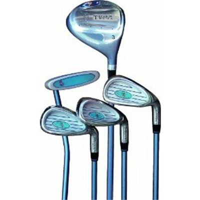 Longridge Left-handed Junior Tiger Plus Package - Clubs