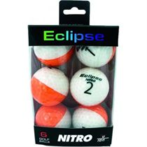 Longridge Nitro Eclipse Golf Balls (pack of 6)