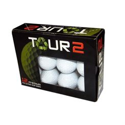 Tour 2 Nike Mixed Lake Balls (12 balls)