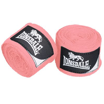 Lonsdale Mexican junior Hand Wraps - Pink