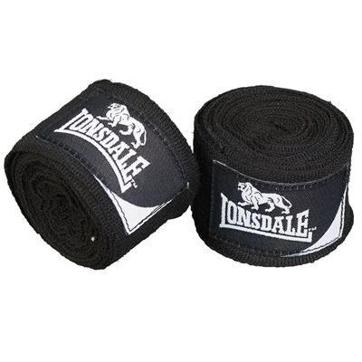 Lonsdale Mexican Standard Hand Wraps - Black