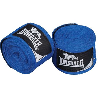 Lonsdale Mexican Standard Hand Wraps - Blue
