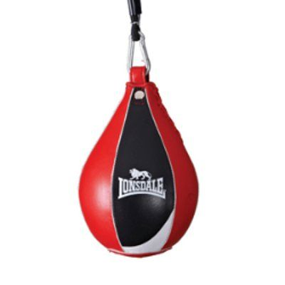 Lonsdale Super Pro Leather Speed Bag