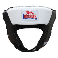 Lonsdale Super Pro Open Face Headgear
