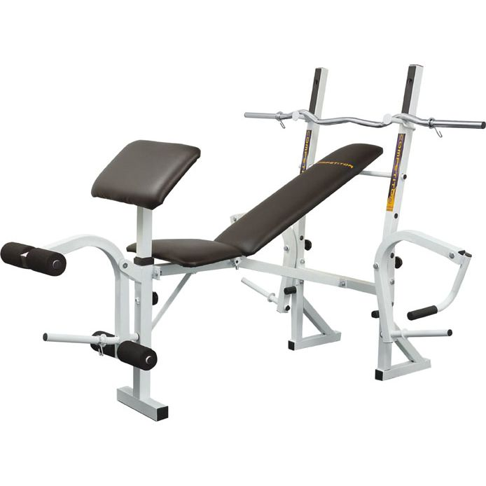 Bench Bar For Sale: Marcy Training Weight Bench And Curl Bar