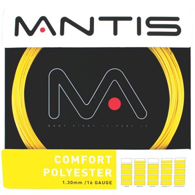 Mantis Comfort Polyester Tennis String Set