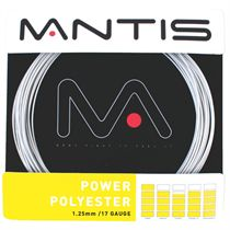 Mantis Power Polyester Tennis String Set