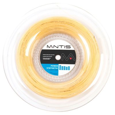 Mantis Power Synthetic Tennis String - Amber